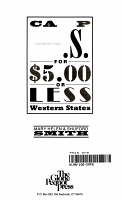 Camp the U S  for  5 00 Or Less PDF