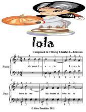 Iola - Easiest Piano Sheet Music Junior Edition
