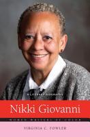 Nikki Giovanni  A Literary Biography PDF