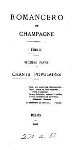 Romancero de Champagne, chants religieux (populaires, légendaires et historiques) [ed. by L.H.P. Tarbé].