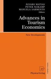 Advances in Tourism Economics: New Developments