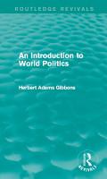 An Introduction to World Politics PDF