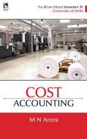 Cost Accounting  For B  Com  Sem 4  Delhi University  PDF