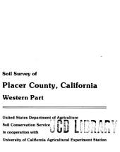 Soil Survey of Placer County, California, Western Part: Page 69