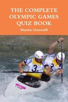The Complete Olympic Games Quiz Book PDF