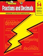 Power Practice: Fractions and Decimals, Gr. 5-6, eBook