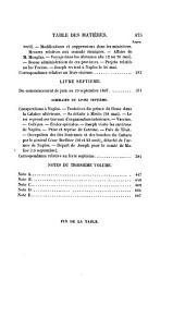 Mémoires et correspondance politique et militaire du roi Joseph: Volumes3à4