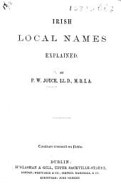 Irish Local Names explained
