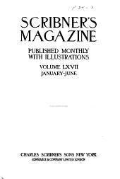 Scribner's Magazine: Volume 67