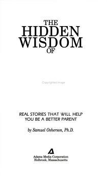 The Hidden Wisdom of Parents PDF