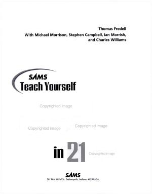 Sams Teach Yourself Windows Script Host in 21 Days PDF