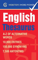 Webster''s Word Power English Thesaurus