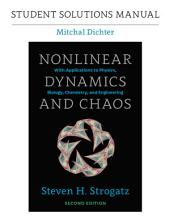 Student Solutions Manual for Nonlinear Dynamics and Chaos, 2nd edition: Edition 2