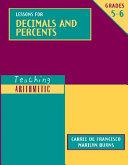 Lessons for Decimals and Percents PDF