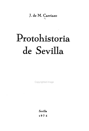 Protohistoria De Sevilla