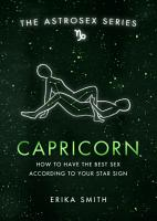 Astrosex  Capricorn PDF
