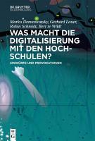 Was macht die Digitalisierung mit den Hochschulen  PDF