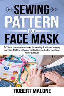 Sewing Pattern for Face Mask PDF