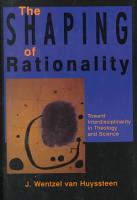 The Shaping of Rationality PDF