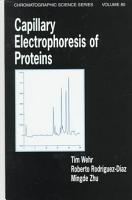 Capillary Electrophoresis of Proteins PDF