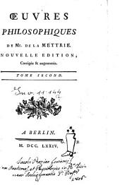 Oeuvres philosophiques ...