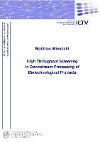 High Throughput Screening in Downstream Processing of Biotechnological Products PDF