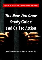 The New Jim Crow Study Guide and Call to Action PDF