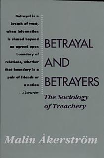 Betrayal and Betrayers Book