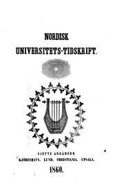 Nordisk universitets-tidskrift: Bind 6
