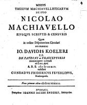 Dissertatio Historica De Rege Marcomannorum Maroboduo Tiberii Artibvs Circvmvento