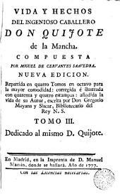 Vida y hechos del ingenioso caballero don Quijote de la Mancha,3: Τόμος 2