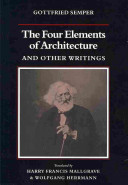 The Four Elements of Architecture and Other Writings PDF
