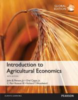 Introduction to Agricultural Economics  Global Edition PDF