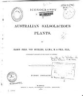 Iconography of Australian Salsolaceous Plants: Volumes 1-3