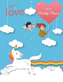Fall in Love  2021 Monthly Planner PDF
