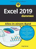Excel 2019 Alles in einem Band f  r Dummies PDF