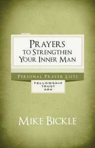 Prayers to Strengthen Your Inner Man Book