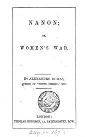 Nanon, or, Women's war: Volume 2