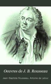 Oeuvres de J. B. Rousseau