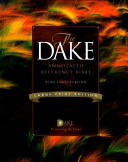 The Dake Annotated Reference Bible PDF