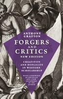 Forgers and Critics  New Edition PDF
