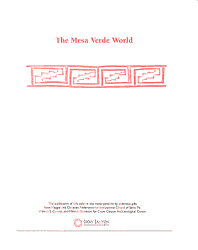 The Mesa Verde World PDF