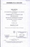 Engineering in K 12 Education PDF