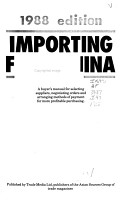 Importing from China PDF