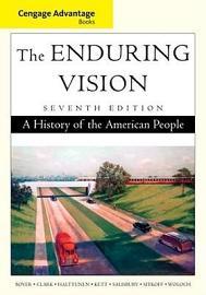 Cengage Advantage Books  The Enduring Vision