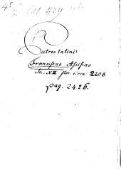 B.P. Francisci Assisiatis Opuscula