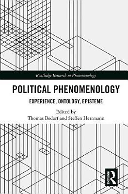 Political Phenomenology