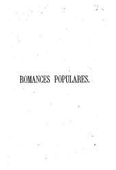 Romances populares