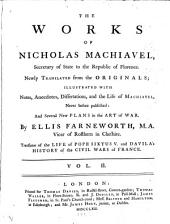 The Works of Nicholas Machiavel: Volume 2