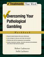 Overcoming Your Pathological Gambling PDF